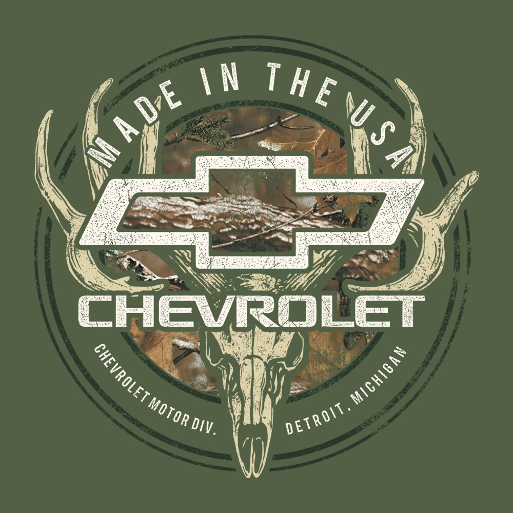 New Licensed Chevymade In The Usachevy Symbol Camoropy