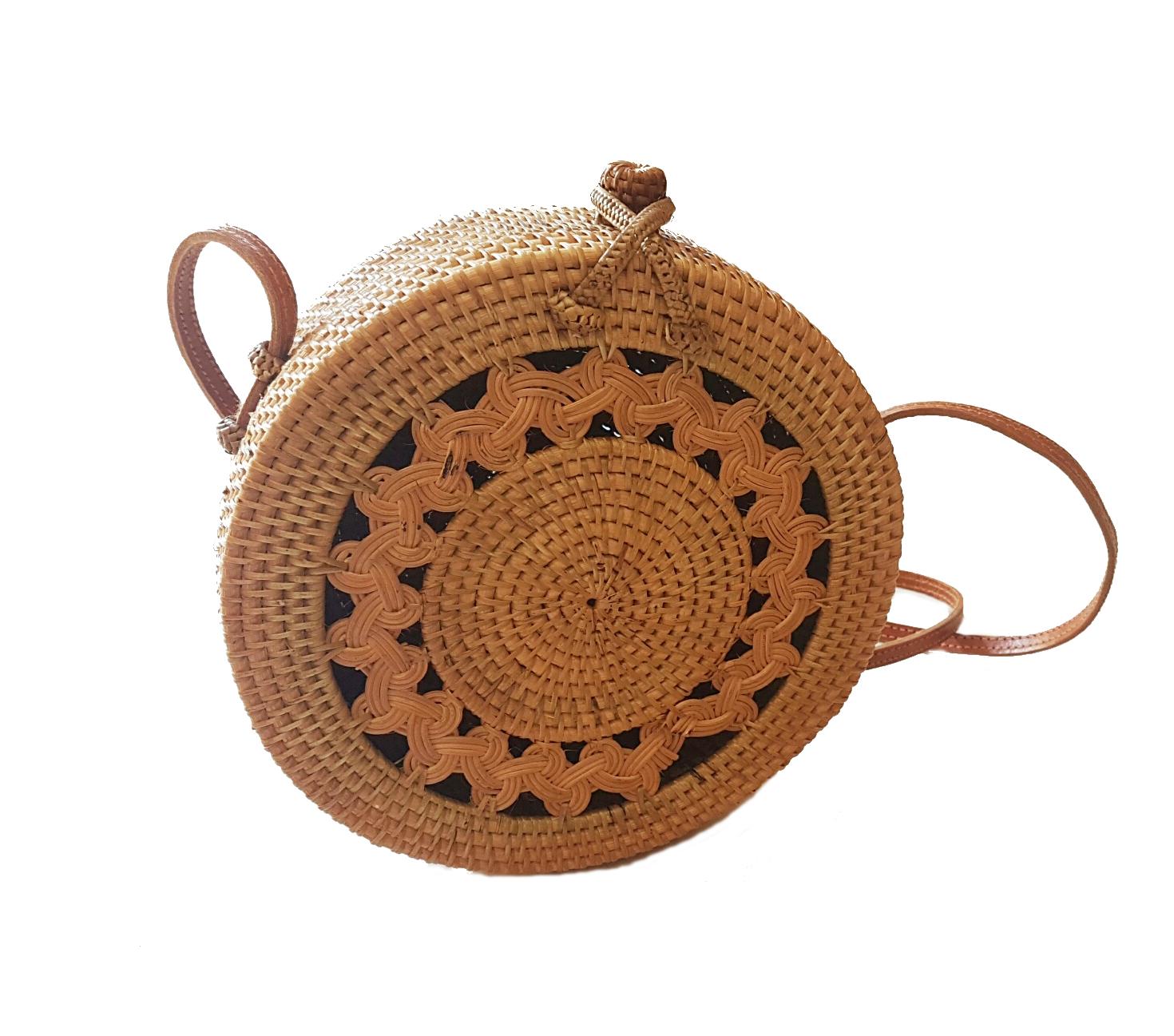 Rattan Nation - Classic Handwoven Rattan Bag (Honey Brown) on Storenvy 53ff02b4f09b7