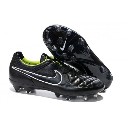 super popular 87425 ca0b5 Nike Tiempo Legend V FG Black White Green sold by Cleats23A