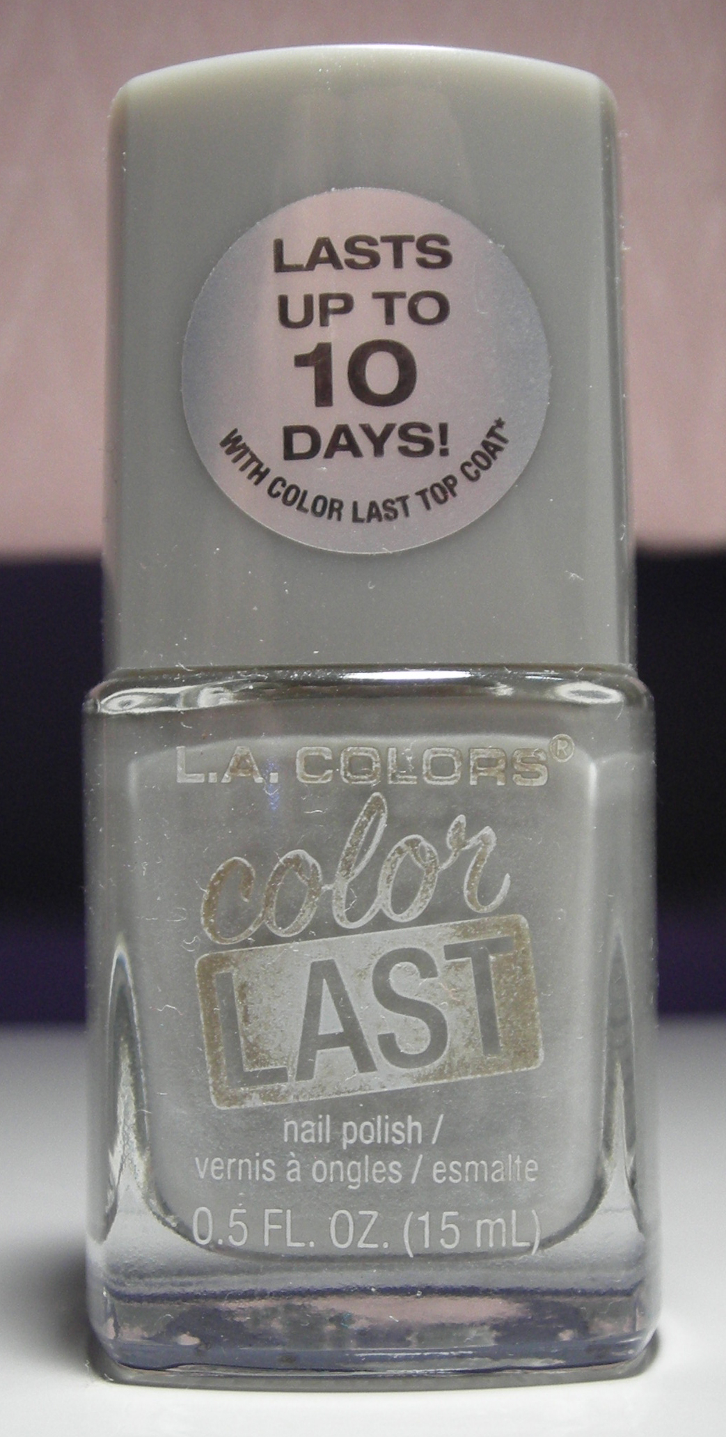 L A  Colors Color Last - Timeless from Nails and a Westie's destash