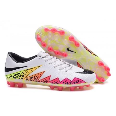 best website e9874 abeab Nike Hypervenom II AG Low White Black Orange Pink sold by Cleats23A