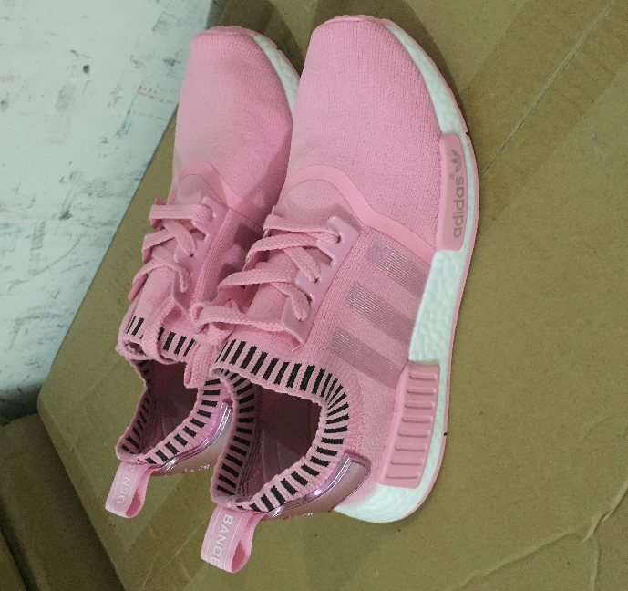 a058d297731a5 ADIDAS NMD R1 PINK RAW Raw Pink Rose Salmon Peach women shoes on ...