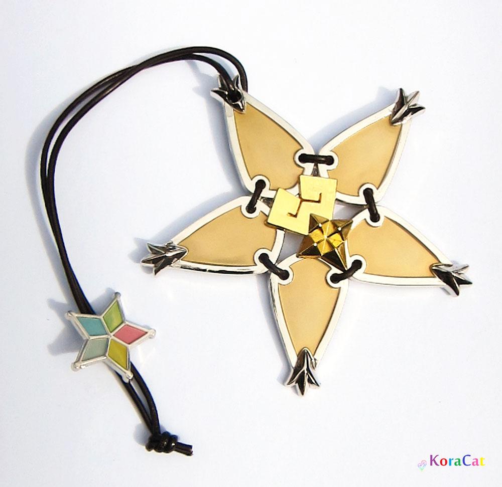 Kingdom Hearts Charm Bracelet: Kingdom Hearts: Wayfinder Charm Necklace (Single