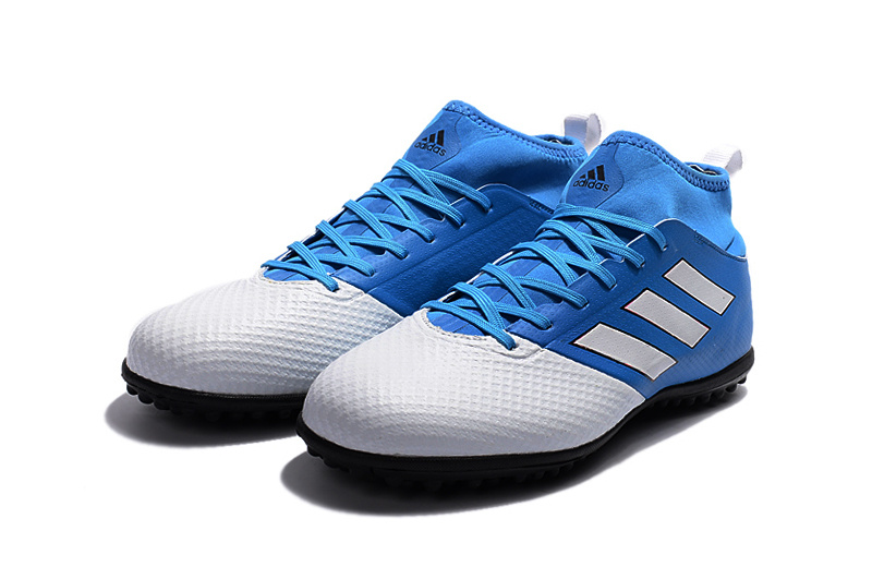 meet 69caa 2a683 adidas ACE 17.3 Primemesh TF Fluorescent Sky Blue Grey White Black Soccer  Cleats sold by cleatssale4A