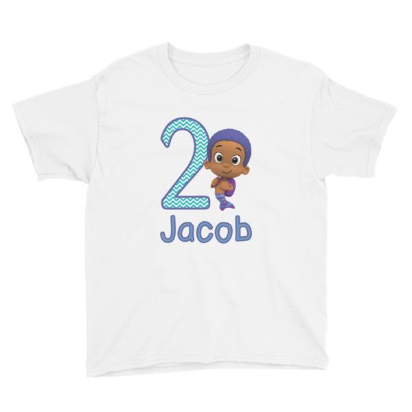 Custom Bubble Guppies Birthda boy Goby- T-Shirt sold by okprintables