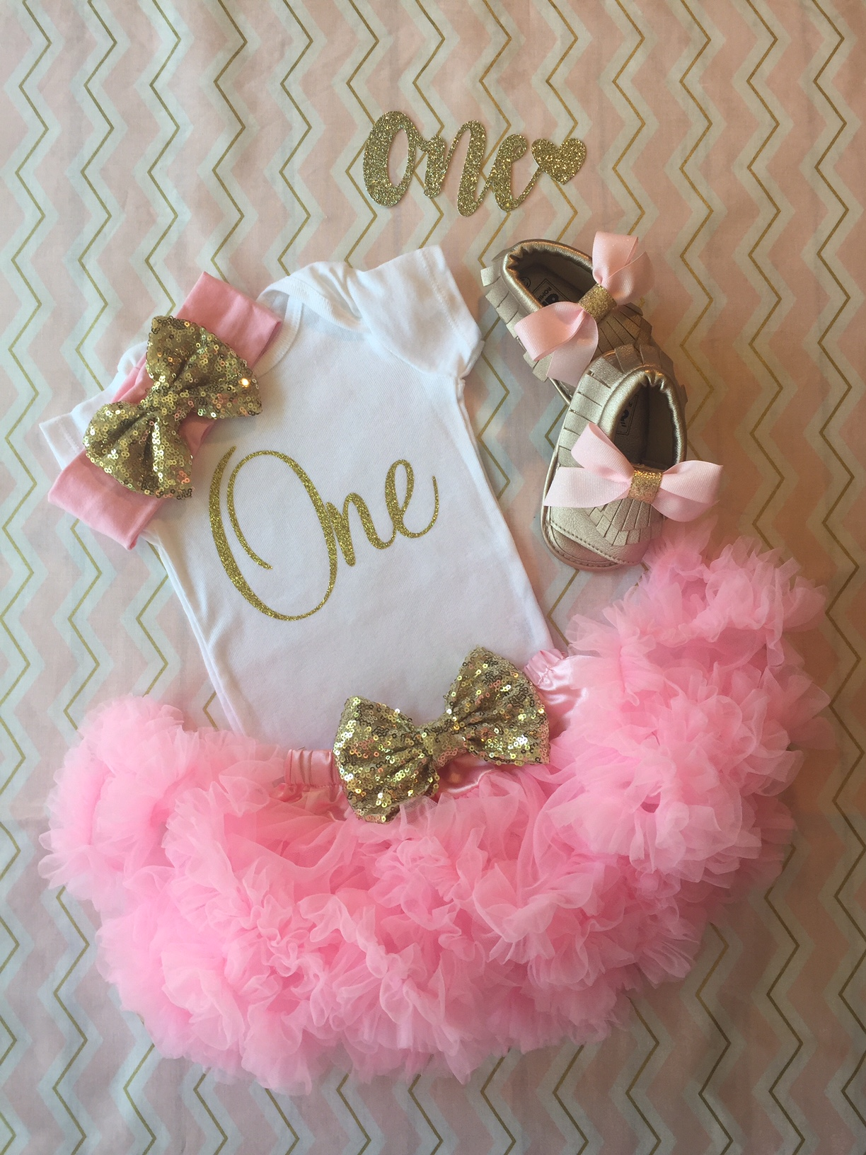 55550f7362cd5 First Birthday Outfit Girl, Pink and gold birthday outfit, 1st Birthday  outfit girl, baby girl birthday, first birthday outfit pink and gold