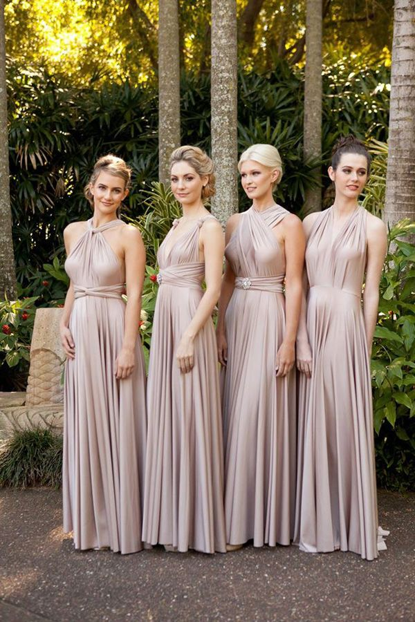 champagne multiway dress – Fashion dresses