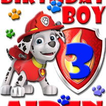 8d97d993 Envy This Collect. PERSONALIZED MARSHALL PAW PATROL BIRTHDAY SHIRT ADD NAME  & AGE FOR FAMILY
