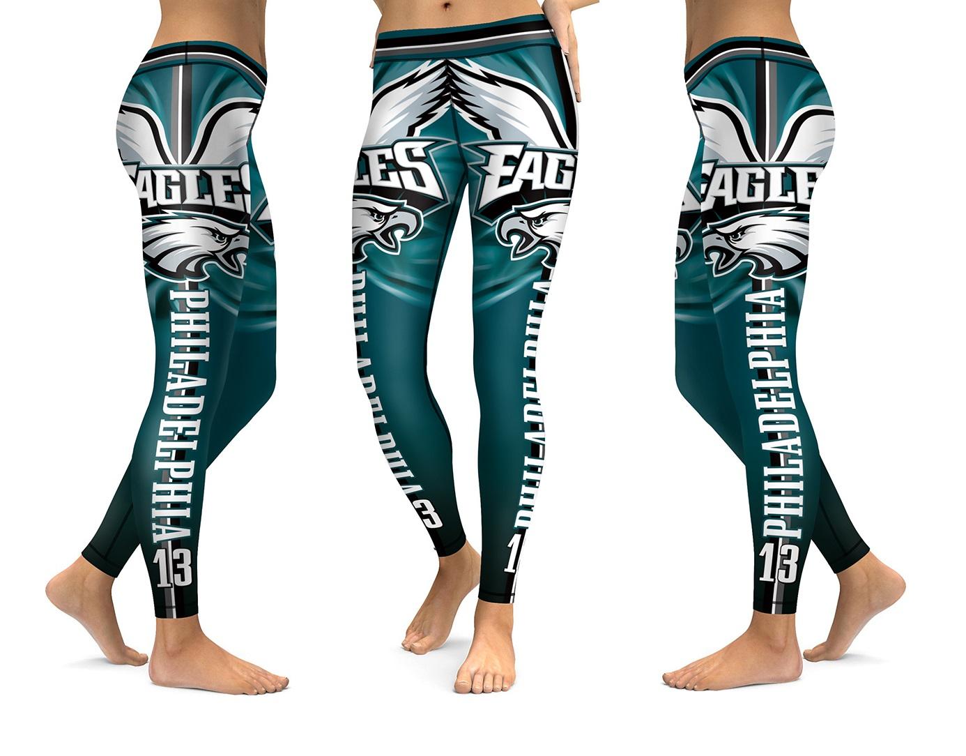 04c990bf Philadelphia Eagles NFL High Quality Sports Leggings