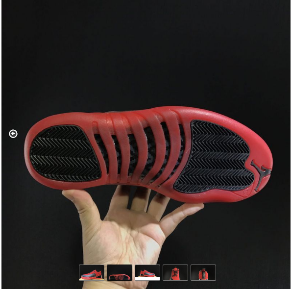 """086eb5af5a8ba 2017 Cheap Air Jordan 12 Retro Low """"Raging Bull"""" Red Suede-Black For Sale  on Storenvy"""
