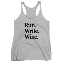 9787e38149e10 Will Run For Wine Racerback Tank on Storenvy