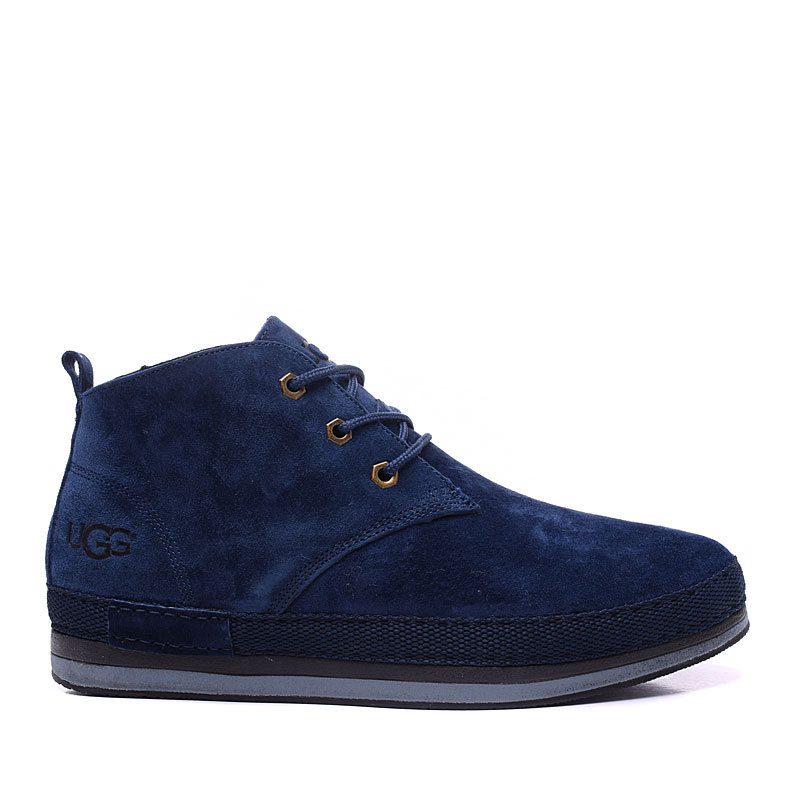 2cef8cc81f3 2017 new men's UGG sheepskin fur snow boots blue from supplier