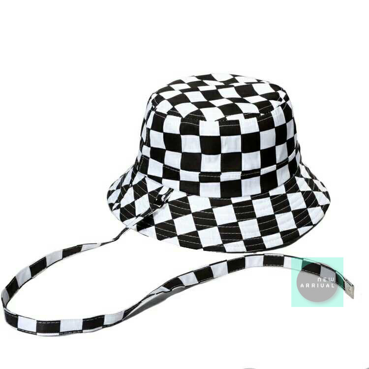 Free Shipping-HARAJUKU CHECKER BUCKET HAT · NEW ARRIVAL · Online ... 2fddc248e4a