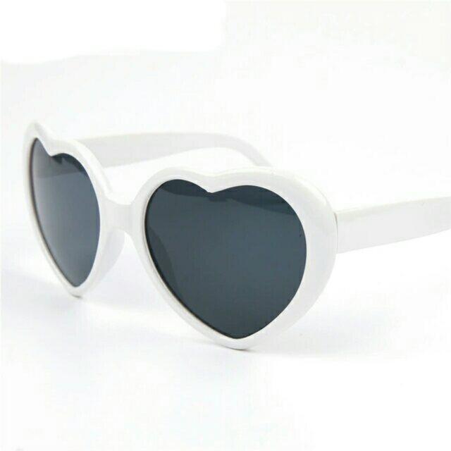 ff881db6292 ... Fashion Heart Shaped Sunglasses Vintage Love Women - Thumbnail 3