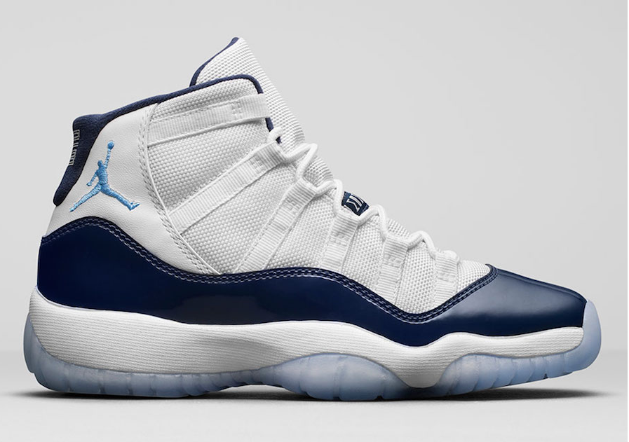 "bce62f2807a7 2017 Air Jordan 11 ""Win Like 82″ White University Blue-Midnight Navy on  Storenvy"