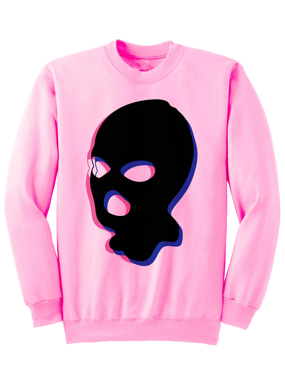44edf59900a Mask On Sweatshirt Funny Sweatshirts Ladies Tops Mens Fashions Stylish  Sweater Plus Size Clothing Back To