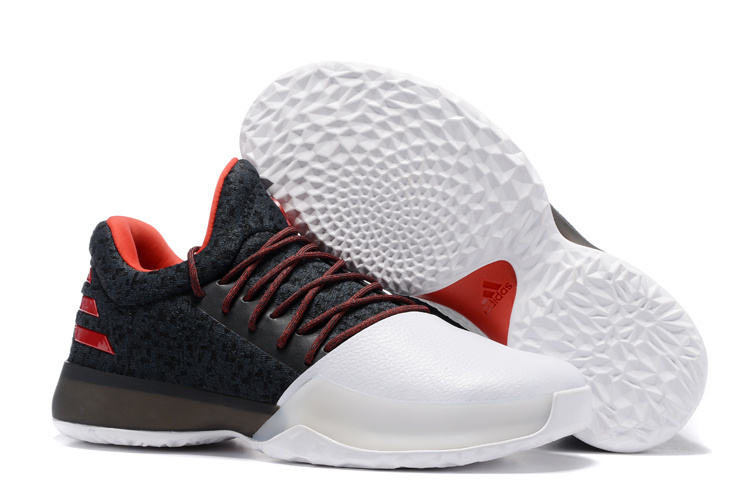 4a8ead6df00 Fashion Adidas Harden Vol.1 Basketball Shoes Black red Men s Sport ...