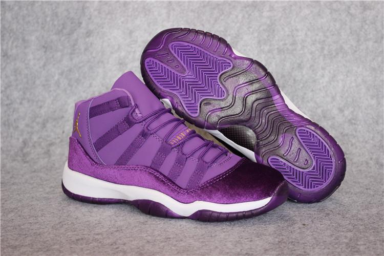 Online Cheap Nike Air Jordan 11 Retro Cheap sale White Purple