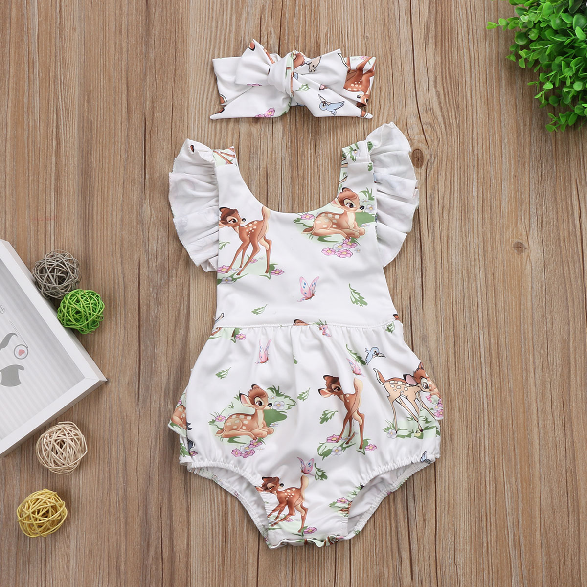 8be12cbab80 Bambi Romper · Isabella Iris Boutique · Online Store Powered by Storenvy