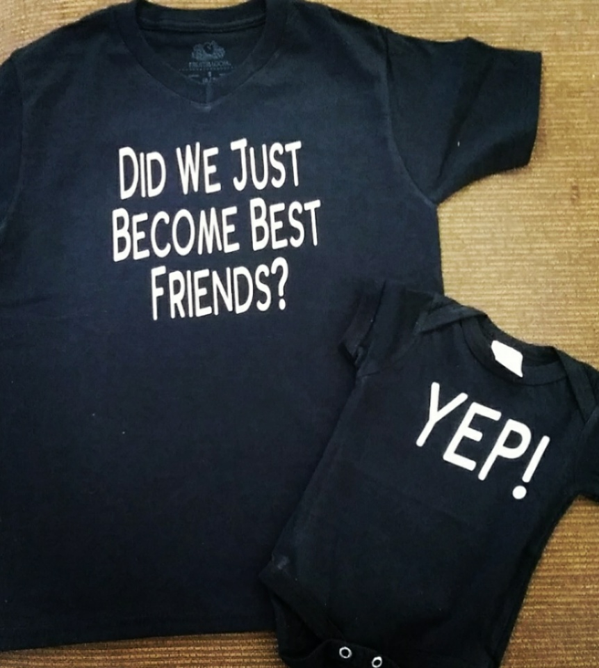 81ec31a1d Did we Just Become Best Friends toddler and onsies set · micheles ...
