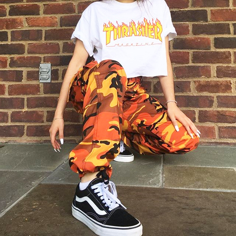 Free Shipping-ORANGE PINK CAMO PANTS · NEW ARRIVAL · Online Store ... 6f2738672f1