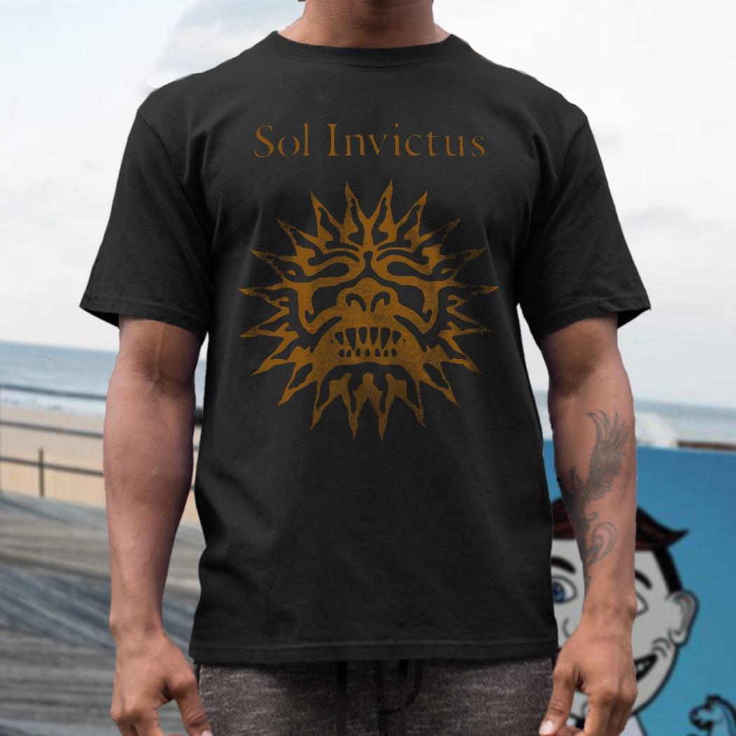 Sol Invictus Band T Shirt Screen Print Vintage Tees T Shirts
