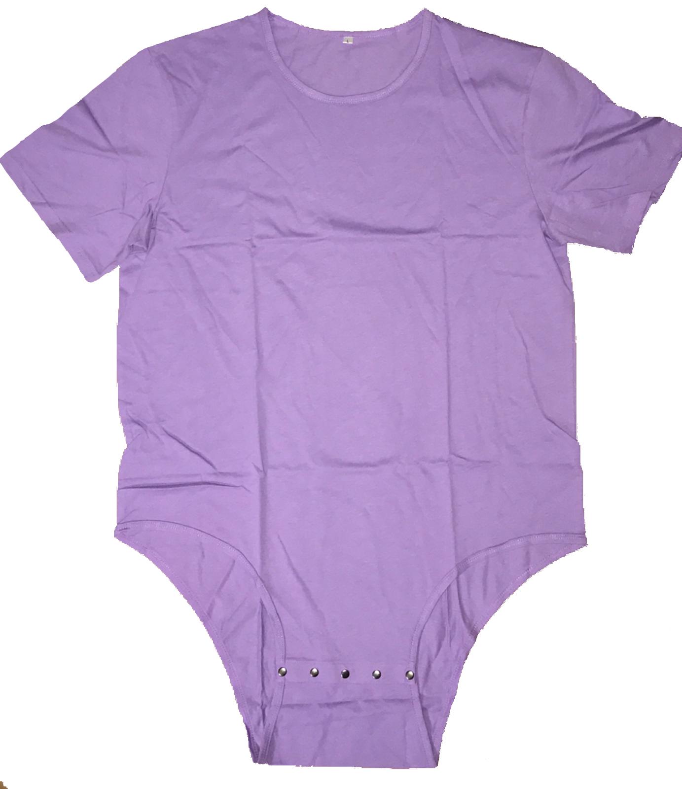 1689f4cb1f Adult Romper Onesie Snap Crotch in Purple on Storenvy