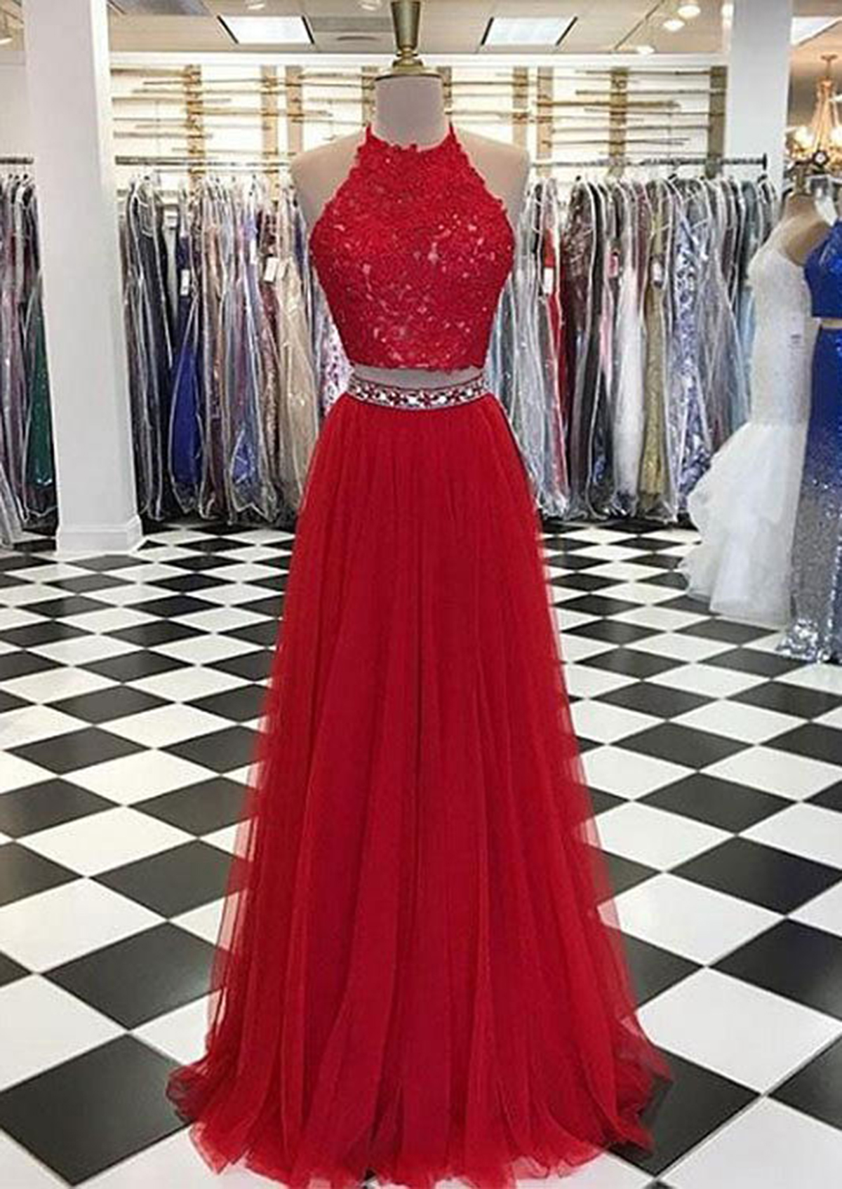 Prom Pretty dresses red