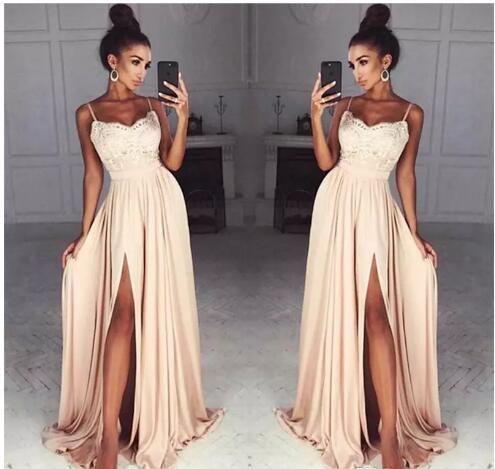 2018 Chiffon Prom Dresses 83538d281491