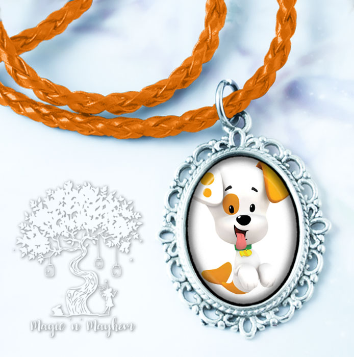 Bubble Puppy Necklace - Bubble Guppies sold by Magic N Mayhem