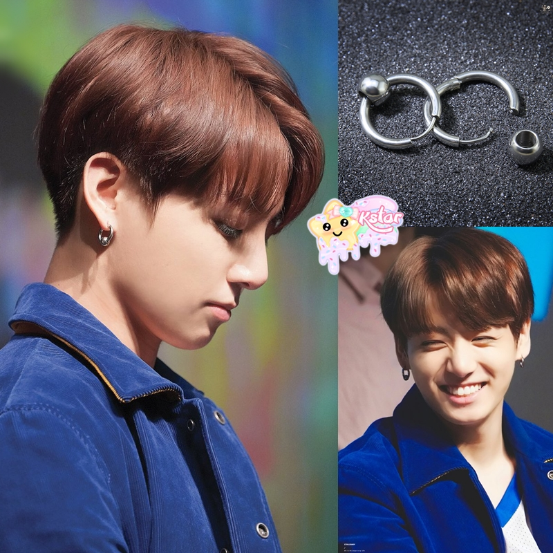 f6f3e3889d2 Jungkook's Style Hoop Earrings on Storenvy