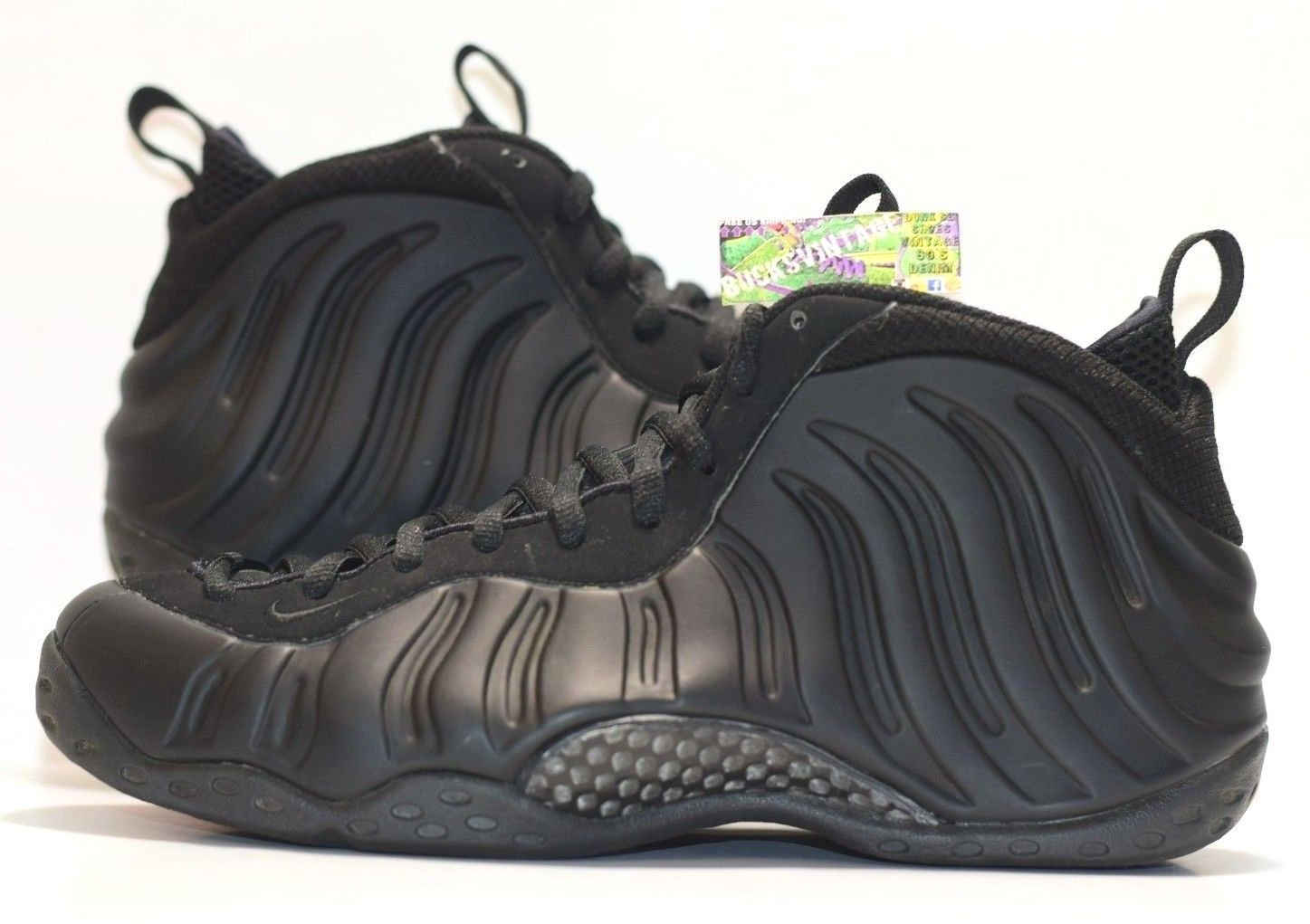 1ad469fd560ec ... new zealand size 9.5 2007 nike air foamposite one penny anthracite  blackout 9653f dfded ...