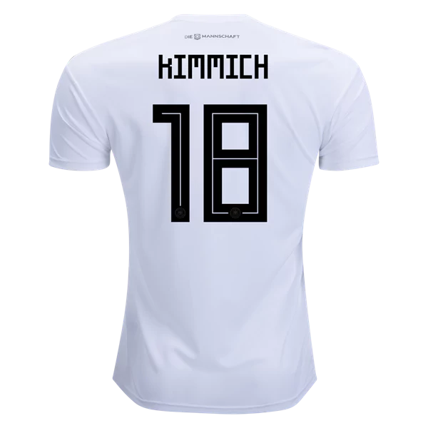 sports shoes 9e7cc 9b909 Joshua Kimmich #18 Germany National Team Home Soccer Jersey,Deutschland  Men's Stadium Shirt White sold by HoHo Jersey Collection