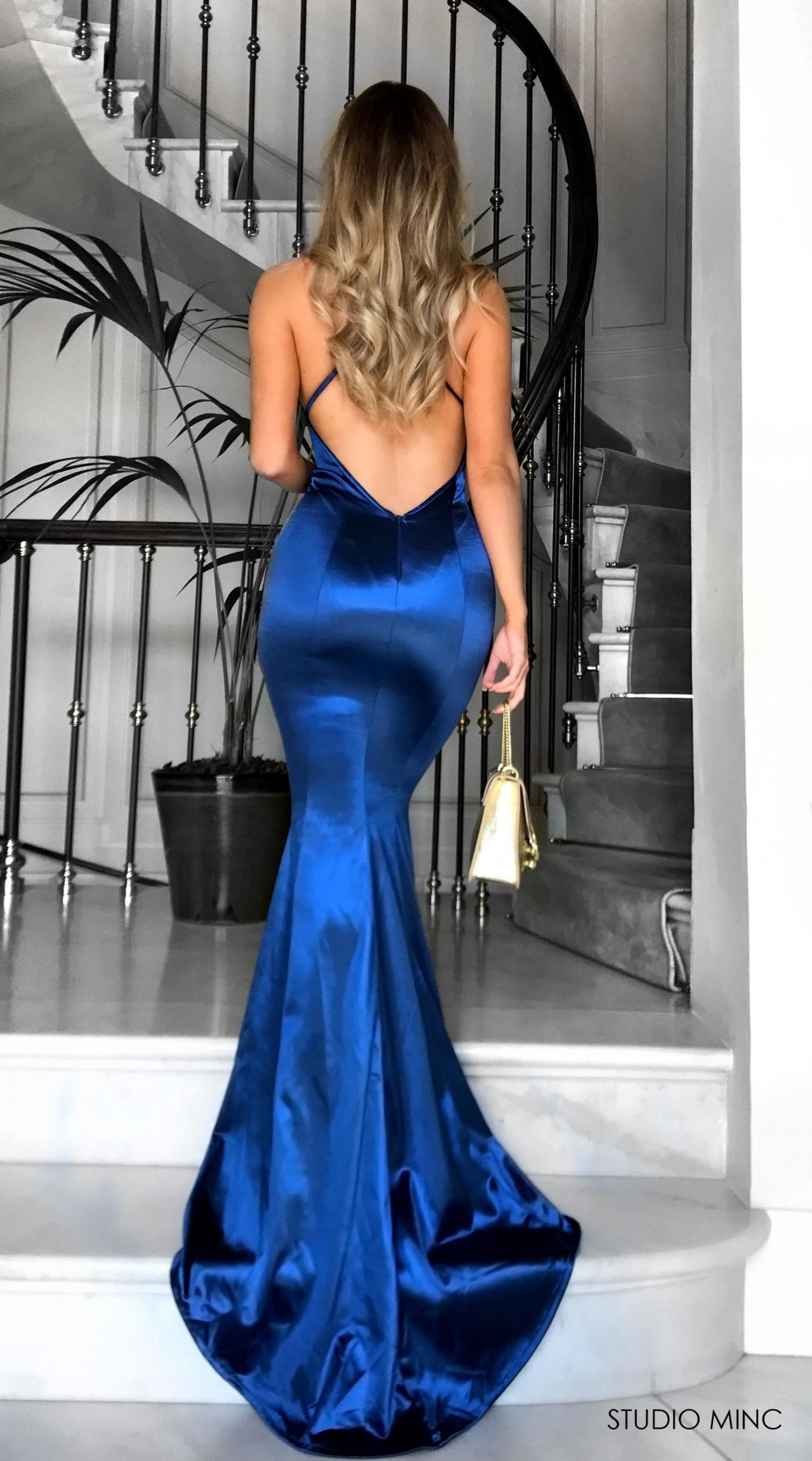 2018 New Mermaid Prom Dresses,Shirt Dress ,V-Neck Prom Dress,Party ...