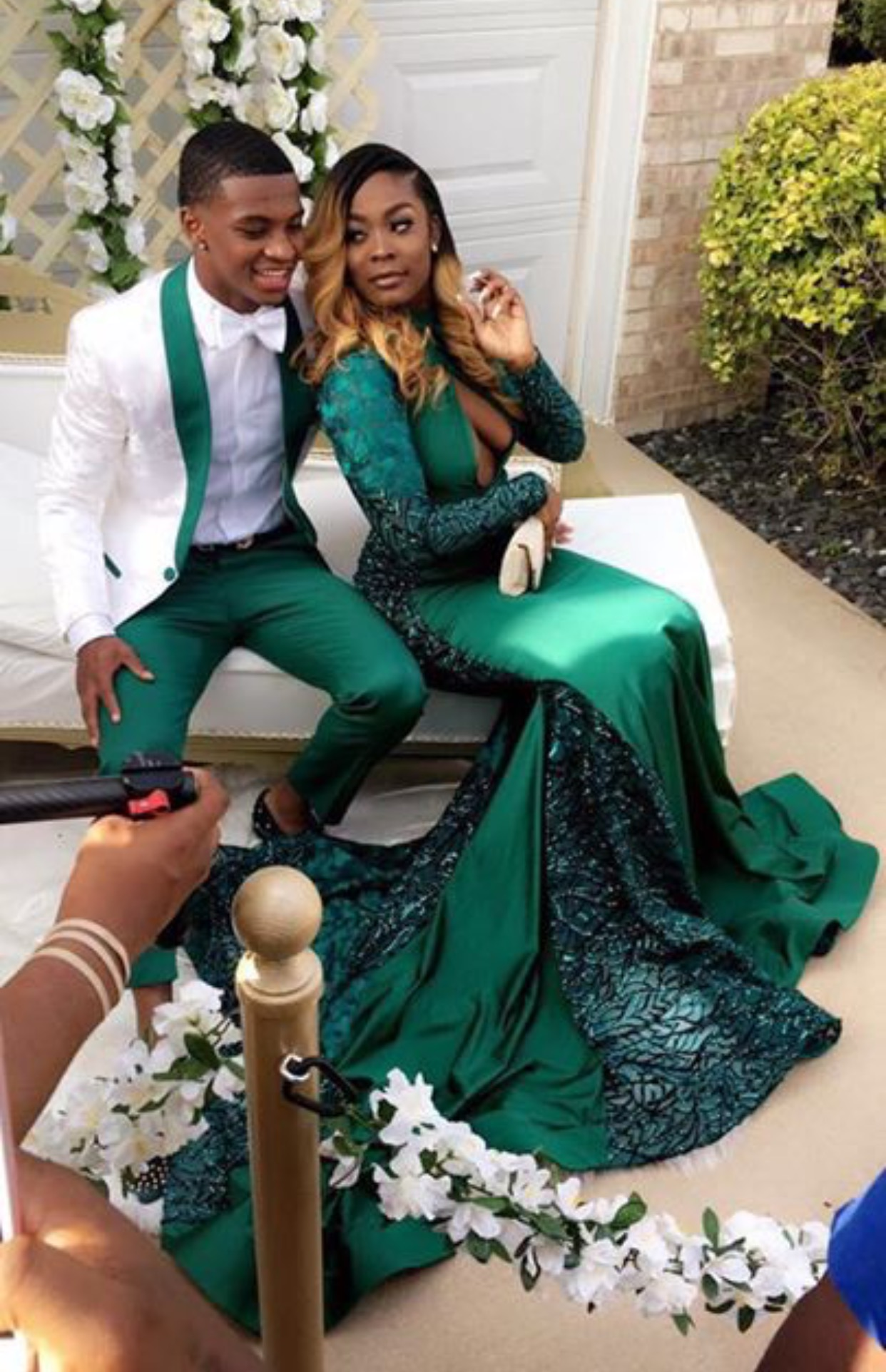 101dee78474 Mermaid Prom Dress 2018 Lace Green Long Evening Gowns Sexy Hunter ...