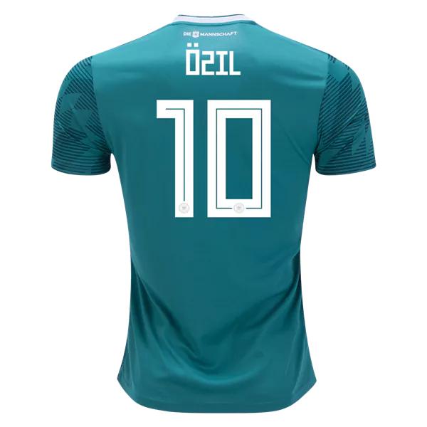 Mesut Ozil  10 Germany 2018 National Team Away Soccer Jersey ... 7a6d2bf9f