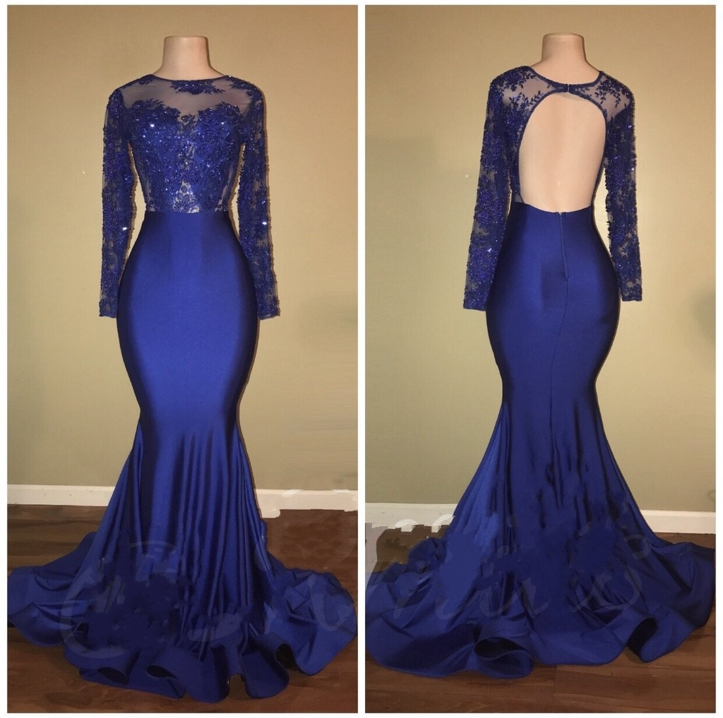 6ff395573b1 Royal Blue Prom Dress Mermaid - Gomes Weine AG