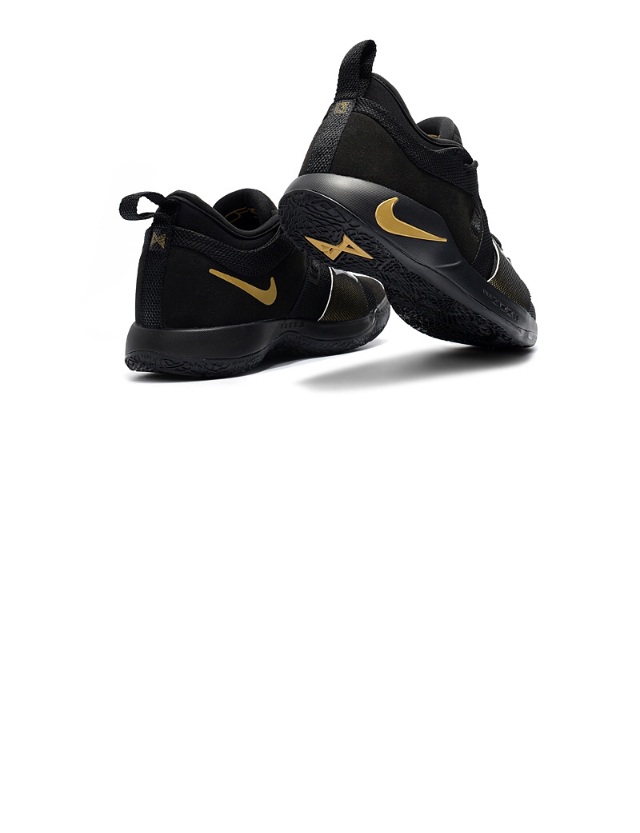 23d50c58da17 High-end Product Nike Paul George PG2 Playstation Black Gold Men s  Basketball Shoes - Thumbnail ...