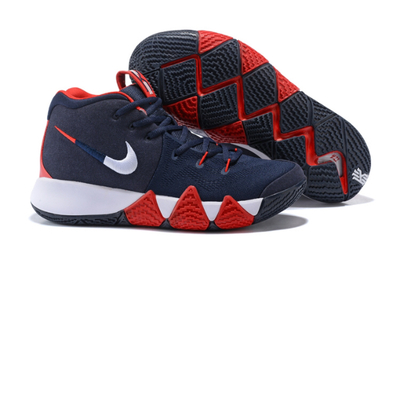 38147bed6049 New arrivel nike kyrie irving 4 navy blue white red men s basketball shoes  - Thumbnail 4