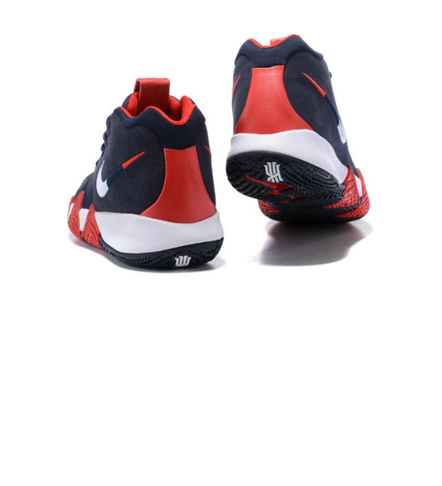 sale retailer 0156e 0deb0 New Arrivel Nike Kyrie Irving 4 Navy Blue White Red Men's Basketball Shoes  from Self Love Boutique