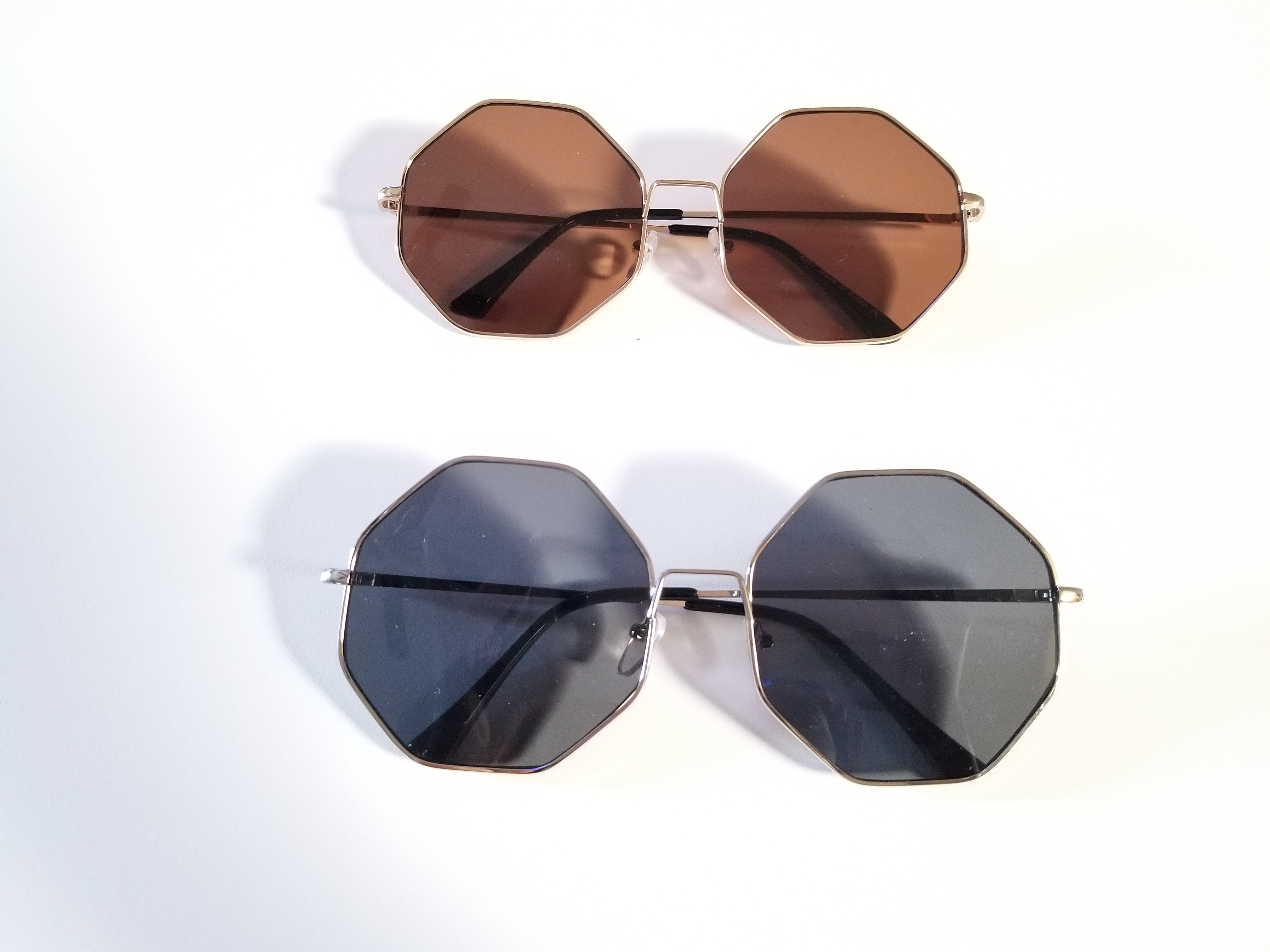 bf518a31217 Octagon Sunglasses (also in silver) · Milania Shades · Online Store ...