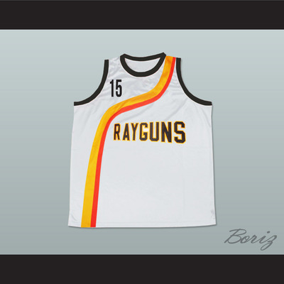 Vince carter roswell rayguns white basketball jersey 15 new - Thumbnail 3 9fcbcd9f6