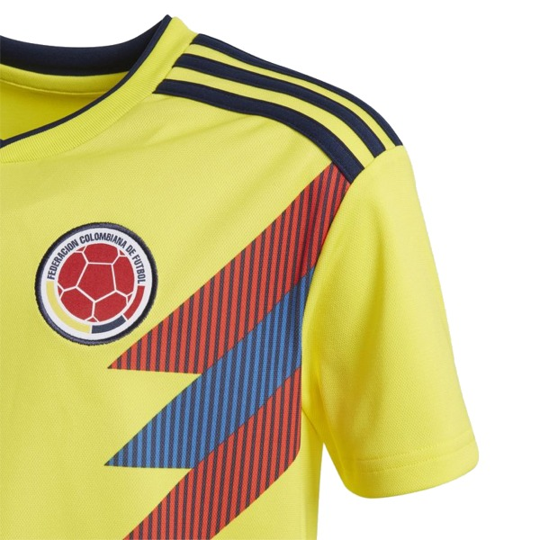 0ff86f9cbe7 Colombia Home 2018 World Cup Yellow Jersey · Yao s Soccer Kit Store ...