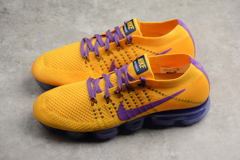 quality design be82f f7109 Nike Air VaporMax Flyknit 2 Men's Running Shoes Yellow AA3858-104