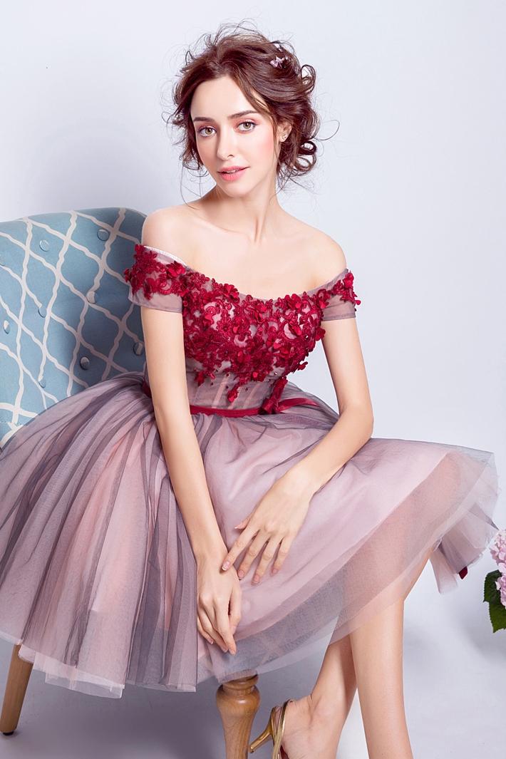 bffe170577 Cute Prom Dress