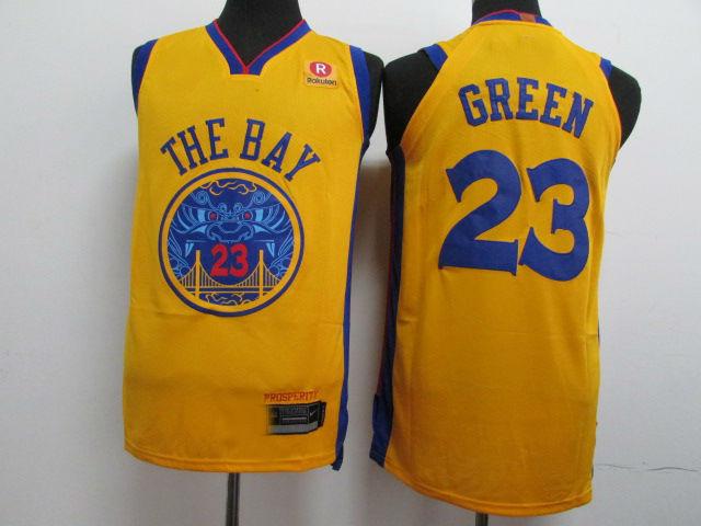 8649e6975bc Mens Golden State Warriors  23 Draymond Green Jersey City Edition ...