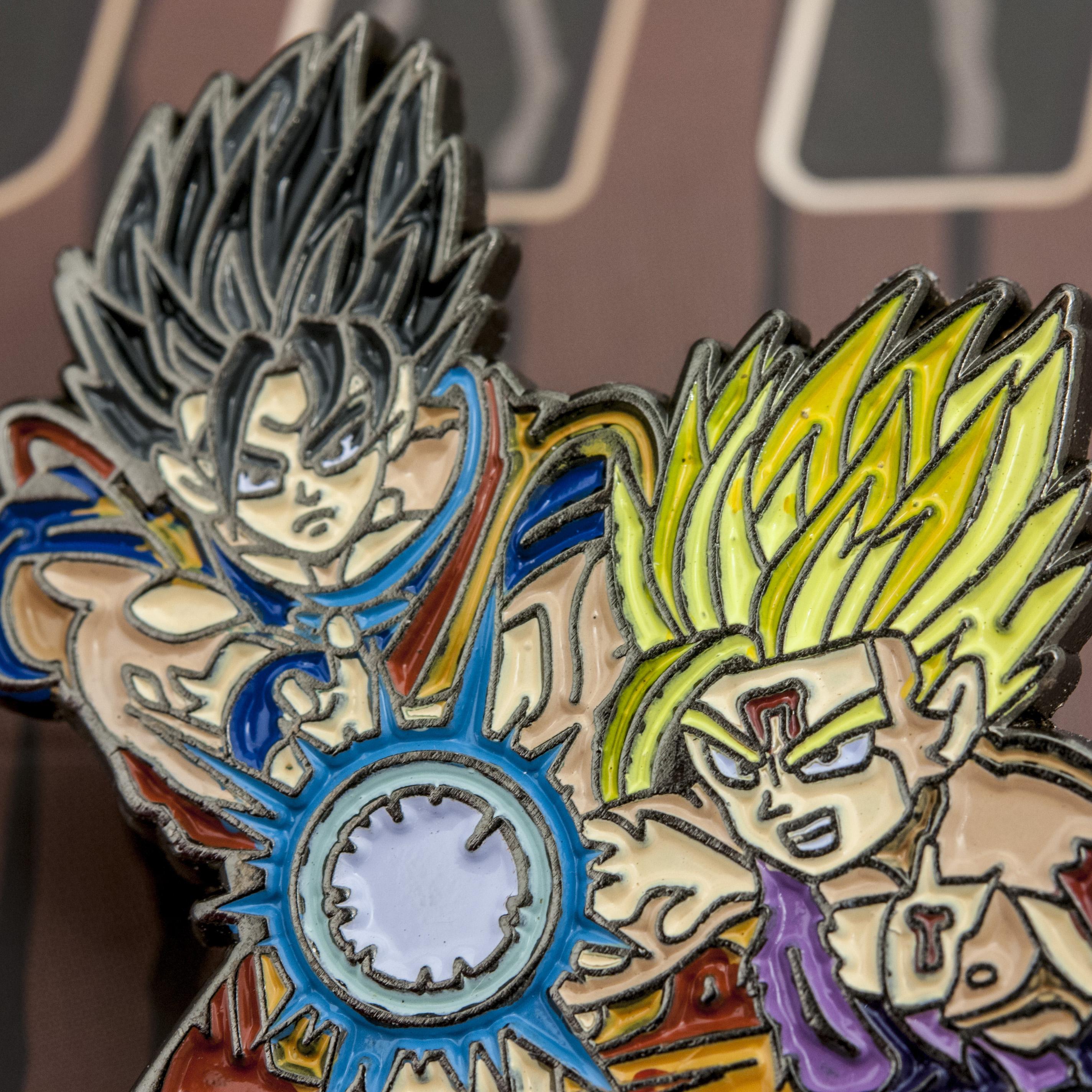 c1e01a99 Dragon Ball Z - Father & Son Kamehameha Pin (Original) on Storenvy
