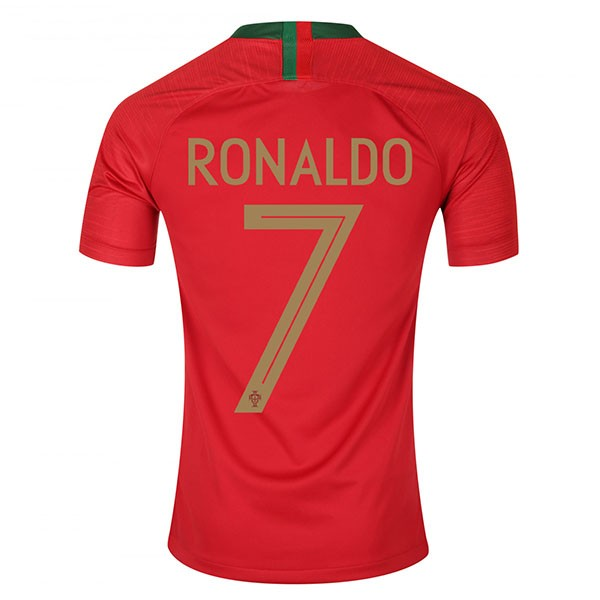 new style 06e66 0a89a NEW Cristiano Ronaldo # 07 Portugal Men's Soccer Home Jersey World Cup 2018  from DominicStyle
