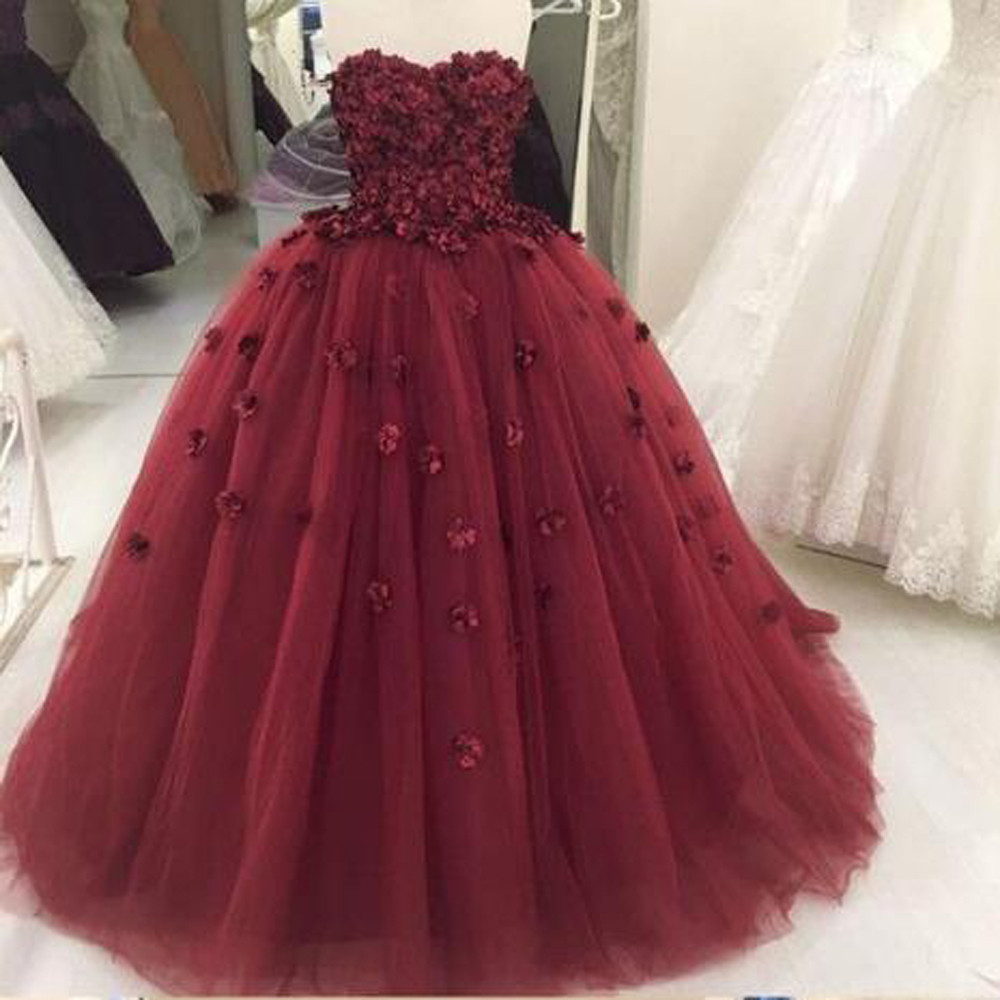 97eba179a3 Maroon quinceanera dress