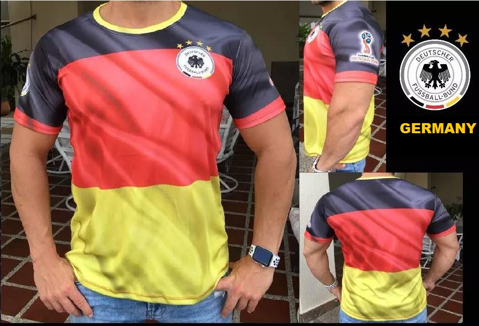 bef732de3fc (Free shipping) Germany FIFA World Cup Russia 2018 Shirt Mens Soccer jersey  Souvenir Sets
